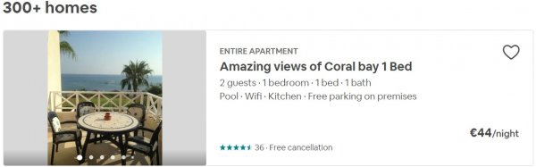 airbnb - Pafos